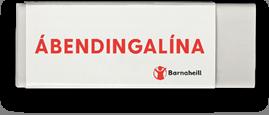 Ábendingalína barnaheilla